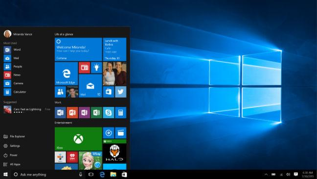 como corrigir barra de título do Windows 10