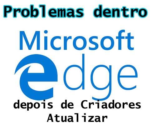 o Microsoft Edge Browser preso