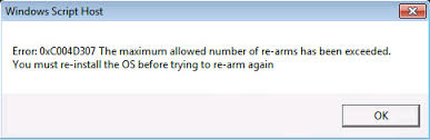 excluir Erro 0xc004d307