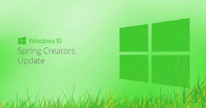 como instalar a Atualização do Windows 10 Spring Creators