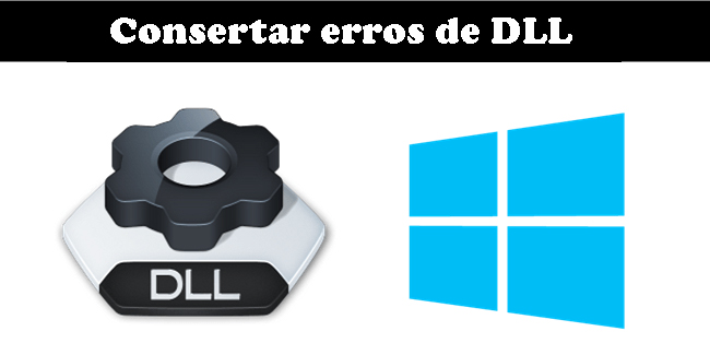 reparar erros de DLL