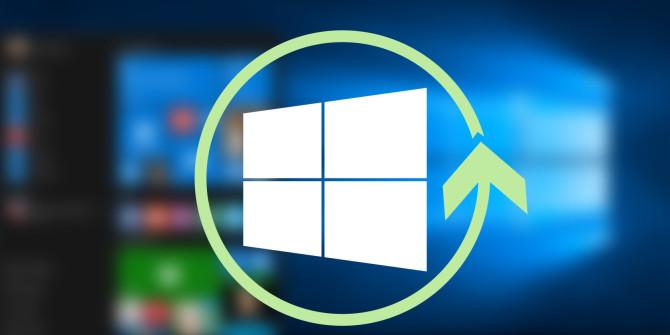 o processo de reinstalação do Windows 10